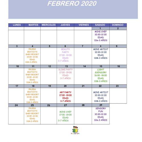 FEBRERO 2020 NEW