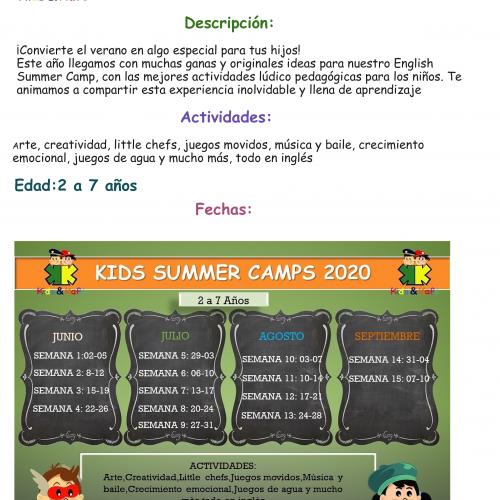 SUMMER CAMP 2020 1