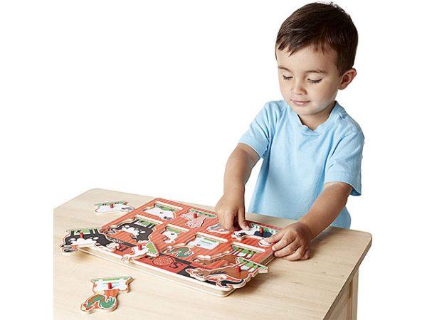 puzzle que favorece el sistema auditivo de los niños