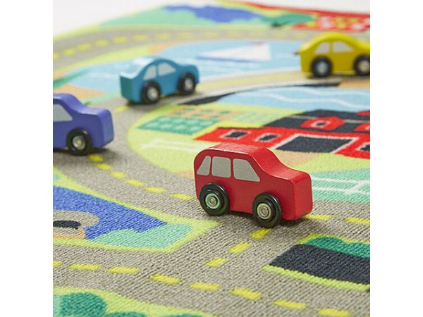 Juego creativo con coches