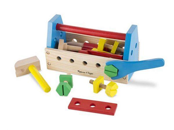 Herramientas de madera para niños