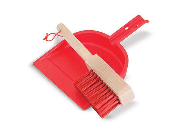 Recogedor, escoba y todo loo que necesitas para la limpieza