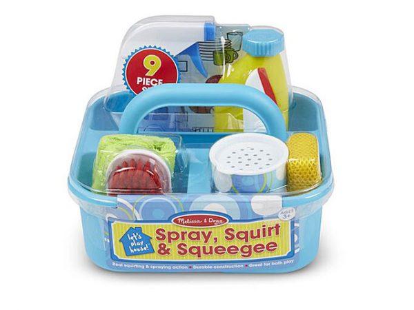 Juego de limpieza con spray