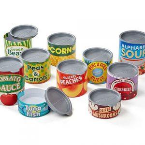 latas de juguete para niños a partir de los 3 años