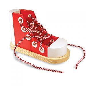 Zapato de madera